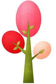 Resultado de imagen para buhos animados de colores en un arbol