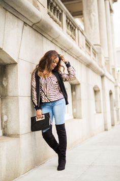 Sequin Jacket and Cami | Keeping Up With Candy | Fashion, Spring Transition