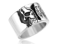 US$ 2.6700 Wholesale Stainless Steel Skull Rings for Sale