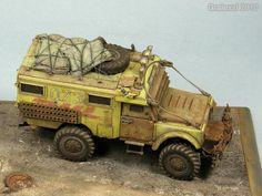 """Land Rover """"HOTHEAD"""" Mail 2033 (Tamiya 1/35)"""