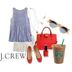 J. Crew Summer Day, created by koehmstedt on Polyvore