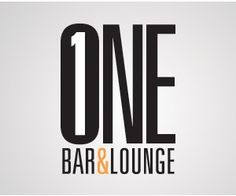 One Bar & Lounge #bar #logo