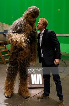 """April 19, 2016. The Duke Of Cambridge And Prince Harry Visit The """"Star Wars"""" Film Set   Getty Images"""
