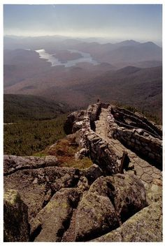 For those of you that think the Wichita Mountains are more than mounds, try this walking path up Whiteface Mountain in Lake Placid, NY!