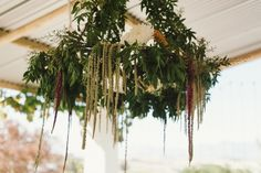 Opus Flower Studio Cape Town, in Countlan Magazine Issue 06 Wedding Story, Farm Wedding, Rustic Wedding, Lustre Floral, Floral Wedding, Wedding Flowers, Hanging Centerpiece, Hanging Decorations, How To Make A Chandelier