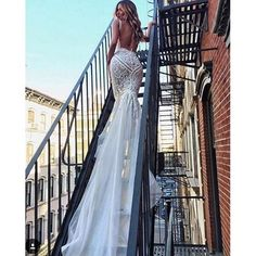 2018 Modern Pallas Couture Mermaid Wedding Dresses Plunging Neck Backless Lace Bridal Gowns Plus Size robe de mariée Beach Wedding Dress Pallas Couture, Bridal Gowns, Wedding Gowns, Wedding Bells, Plus Size Robes, Nyc, Custom Wedding Dress, Plus Size Wedding, Mermaid Dresses