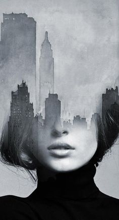 AM Artworks - Women City. Info Sale: pil4r@routetoart.com