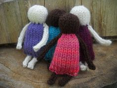 Knitting Dolls Free Patterns, Knitted Dolls Free, Knitted Bunnies, Knitted Teddy Bear, Baby Hats Knitting, Knitted Animals, Doll Patterns, Knitting Toys, Knit Patterns