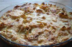 Φιογκάκια ογκρατέν ⋆ Cook Eat Up! Pasta Recipes, Macaroni And Cheese, Bread, Ethnic Recipes, Food, Mac And Cheese, Brot, Essen, Baking