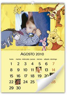 Calendario de Pared Winnie The Pooh (Grande) baby calendar