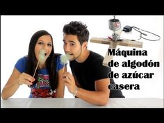Cómo hacer una máquina de algodón de azúcar casera - YouTube
