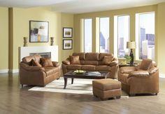 Laramie Tanner Sofa & Loveseat - Royal Furniture