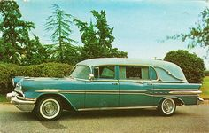 1957 FUNERAL CARS (Pontiac)