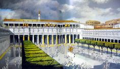 The Seven Wonders of Ancient Rome Concrete Architecture, Classical Architecture, Historical Architecture, Ancient Architecture, Ancient Rome, Ancient Greece, Ancient History, Ap Art History 250, Roman History