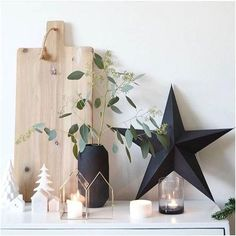 Vianoce, vianočná výzdoba, vianočné dekorácie, advent / Christmas, christmas home decoration - Inšpirácie Noel Christmas, Green Christmas, Christmas 2019, Christmas Crafts, Christmas 2018 Trends, Christmas Candles, Scandinavian Christmas, Modern Christmas, Simple Christmas