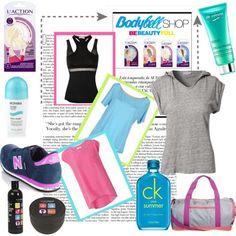 Tendencias cool: camisetas para el gym y novedades de belleza!! #belleza #fastbeauty #camisetas #biotherm
