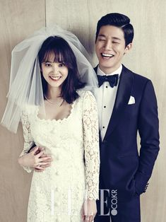 Aktor Kim Moo Yeol dan Aktris Yoon Seung Ah Telah Resmi Menikah Wedding Photoshoot, Wedding Shoot, Wedding Gowns, Real Couples, Cute Couples, Seung Ah, Korean Wedding, Romantic Photos, Star Wedding