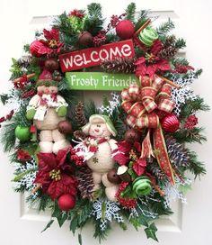 Christmas wreath http://www.timelessfloralcreations.com/ https://www.facebook.com/timelesswreaths