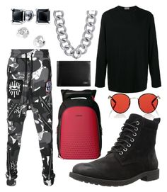 """Untitled #280"" by insired on Polyvore featuring Stephen Oliver, Garrett Leight, Haculla, Yohji Yamamoto, Z Zegna, Tumi, Gorjana, Bling Jewelry, men's fashion and menswear"