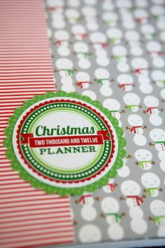 Awesome Christmas Planner..