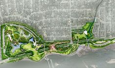 At Michael Van Valkenburgh Associates, we are inspired by the power of landscape architecture to deliver beauty in its many forms: rational, lyrical, and exuberant. Landscape Architecture Design, Landscape Plans, Architecture Plan, Urban Landscape, Wetland Park, Landscape Structure, Urban Park, Site Plans, Master Plan