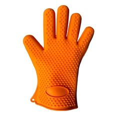 Your man will love having this heat resistant baking glove nearby in the kitchen or at the bbq grill. It's made from heavy duty BPA-free silicone so it won't slip or stay dirty! When it needs to be cleaned put it in the dishwasher. Great gift idea for a man or woman on your list. Use it for cleaning a hot grill, handling hot roasting pans and cookie sheets, pizza pans and oven racks. Handy cooking, baking and grilling supply item. #GiftIdea