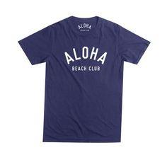 Aloha Beach Club - Crew Tee Navy