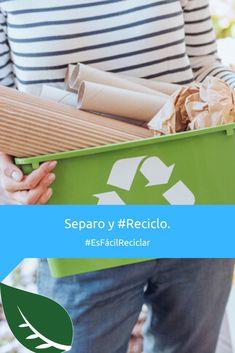 Es importante que disminuyamos lo que desechamos y aumentemos lo que #Reciclamos. :D