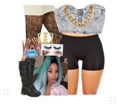 """""""✨"""" by newtrillvibes ❤ liked on Polyvore featuring women's clothing, women, female, woman, misses and juniors"""