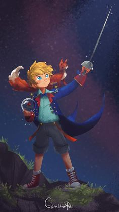 Le Petit Prince by Geraldine Rodriguez for Sketch Dailies