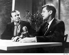 1959. Television host Jack Paar and John F. Kennedy as a Senator and Presidential candidate when he appeared on The Tonight Show