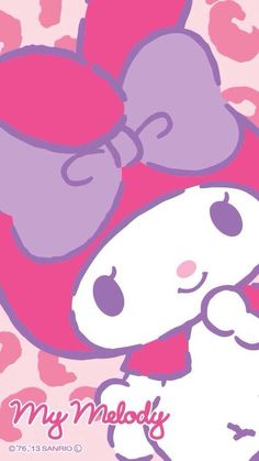 My Melody ❤ Image via We Heart It https://weheartit.com/entry/159023843