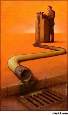 Illustration of politics