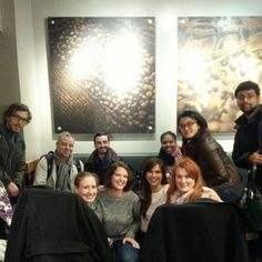 Give 'em that big finish....last class of the semester for our little Manhattan group #UN #CoicaudCrew #Rutgers