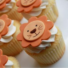 lion cupcakes - Google Search