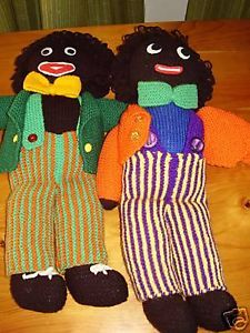 Buy Golliwog (Golliwogg, Golly) Dolls, Books, Knitting patterns