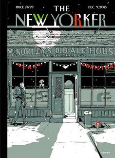 Istvan Banyai | The New Yorker Covers  December 9, 2013