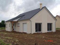 Maison traditionnelle construite en maçonnerie en Normandie