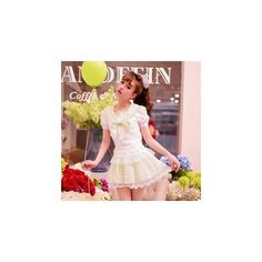 Plaid A-Line Skirt ($30) ❤ liked on Polyvore