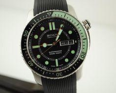Supermarine black & Green