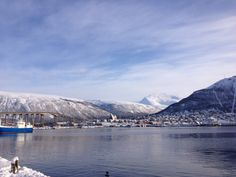 https://flic.kr/p/e1QbCA | Tromso in the sunshine | Stunning day today. It snowed quite a bit this morning and now glorious sunshine. Really liking this place.