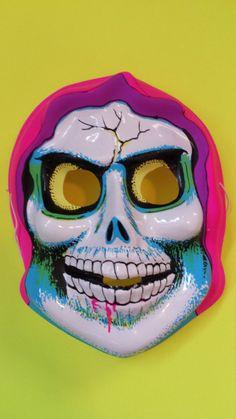 Vintage Reaper Mask by kellyebyal on Etsy