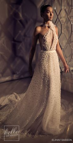The Chic Technique: Elihav Sasson Wedding Dresses 2019 - Enamoured Collection Wedding Dress Gallery, Classic Wedding Dress, Gorgeous Wedding Dress, Princess Wedding Dresses, Bridal Dresses, Wedding Gowns, Lace Wedding, Dress With Bow, The Dress