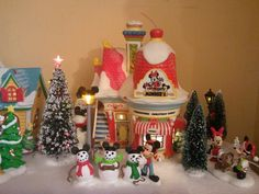 My Mickey Christmas Village part 3