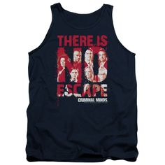 "Checkout our #LicensedGear products FREE SHIPPING + 10% OFF Coupon Code ""Official"" Criminal Minds / No Escape - Adult Tank - Criminal Minds / No Escape - Adult Tank - Price: $29.99. Buy now at https://officiallylicensedgear.com/criminal-minds-no-escape-adult-tank"