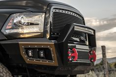 The bumper that actually improves the looks of your Ram. Now available from Flog Industries.