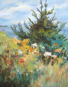 Garden by the Water by Mary Maxam