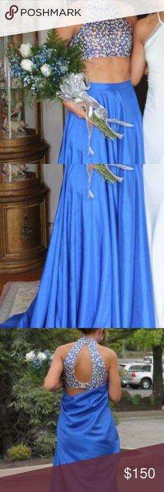 Sherri Hill Prom Dress 2 Piece Sherri Hill. Altered to fit a size 2. Sherri Hill Dresses Prom