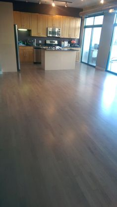 Chicago flooring contractor specialized in maple wood installation sanding & finishing staining & color matching Maple Wood Flooring, Maple Floors, Hardwood Floors, Wood Floor Finishes, Floor Stain, Grey Stain, Kitchen Remodel, House, Ideas