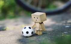 Cute Soccer Ball Wallpaper